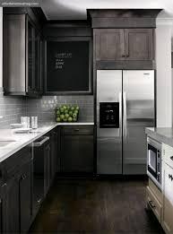 Gray Kitchen Cabinets With Dark Wood Floors MPTstudio Decoration - Wood floor in kitchen