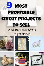 9 most profitable cricut business