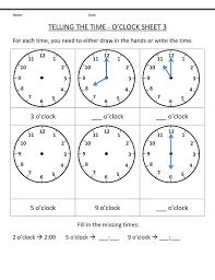 blank clock worksheet easy – Printable Shelter