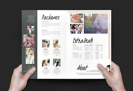 Wedding Brochure Template Wedding Photographer Brochure Template v24 BrandPacks 1