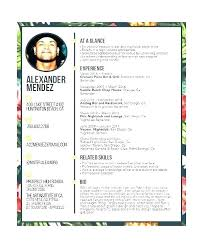 Example Of Bartender Resume Impressive Bartender Resume Format Resume Example Example Bartender Best