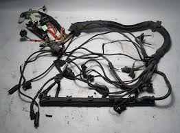 bmw e39 1998 528i 5 spd manual engine wiring harness complete m52 bmw e39 1998 528i 5 spd manual engine wiring harness complete m52 used oem