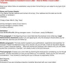 assistant sample cover letter legal assistant  seangarrette coassistant sample