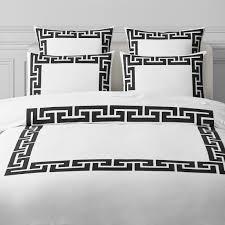 paloma contreras greek key duvet cover shams all bedding williams sonoma