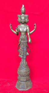 พระตรีมูรติ สร้างจากทองเหลือง เทพแห่งความรัก ความสำเร็จ พระตรีมูรติ รหัส235  - บูชาพระพุทธชินราช : Inspired by LnwShop.com