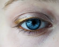 the blue eye makeup tutorial from the internet