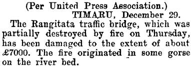 Papers Past Wanganui Herald Wanganui Herald 29 December 1906