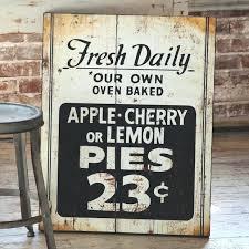 farmhouse kitchen wall art fresh pie sign kitchen wall art kitchen wall decor kitchen signs vintage