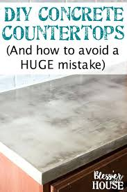 diy concrete kitchen countertops feather finish concrete and how to avoid a huge mistake a thorough diy concrete kitchen countertops