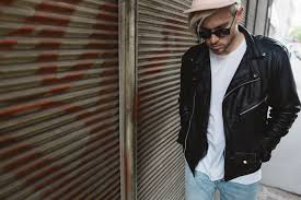 meanwhile in awesometown austrian mens fashion and lifestyle blogger leather biker jacket neuw ripped jeans barney