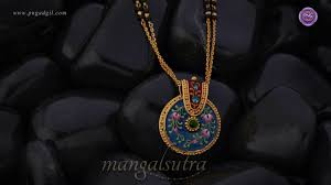 Png Pune Gold Mangalsutra Designs Rebha Gold Mangalsutra Fancy Mangalsutra Designs Png