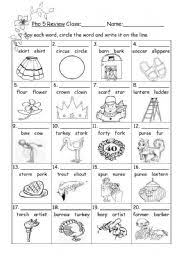 Essential phonics plus your imagination. Phonics Esl Worksheet By Anitachu226