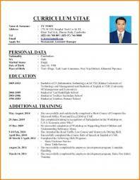 Resume Examples 9 Samples Of Curriculum Vitae Global Strategic