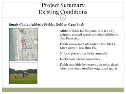 Item Th15c Beach chalet Athletic FieldS renovation Golden Gate Park - ppt  download