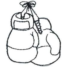 Boxing Gloves Coloring Pages Tattoo Boxing Gloves Tattoos Box