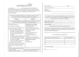 Verification Letter Of Residence