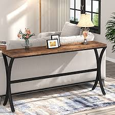 tribesigns industrial console sofa