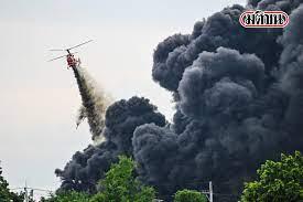 สรุปไทม์ไลน์ 'โรงงานหมิงตี้' ตั้งแต่เหตุระเบิด ไฟไหม้ 5 ก.ค.  ถึงเช้าวันรุ่งขึ้น