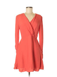 C Meo Collective Size Chart Details About C Meo Collective Women Pink Casual Dress Med