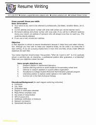 College Scholarship Resume Examples Awesome Graduate School Resume