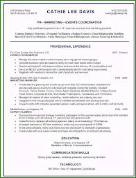 Corporate Event Planner Resume Sample Awesome Event Planner