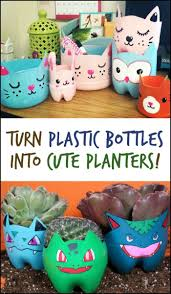 Looking for a fun way to spend time with your kids, make these planters from
