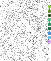Small Picture Nicoles Free Coloring Pages Color by Number for Adults and