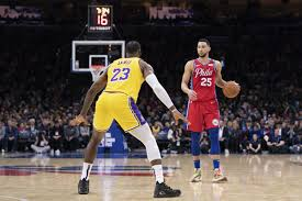 Links will appear around 30 mins prior to game start. Sixers Bell Ringer Game 47 Sixers Top Lakers On Lebron S Big Night Liberty Ballers