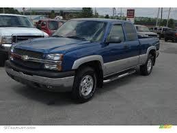 2003 chevy silverado extended cab blue | Maxi Truck