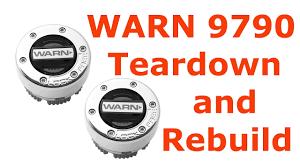 Warn Hub Application Chart Warn 9790 Manual Locking Hub Teardown And Rebuild