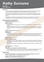 Good Resume Example 22 Great Sample Resumes Cv Cover Letter Great