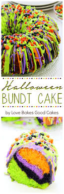 Halloween Bundt Cake Decorations Halloween Bundt Cake Love Bakes Good Cakes