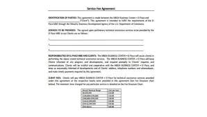 Service Agreement Samples Free 8 Service Agreement Form Samples In Pdf Word