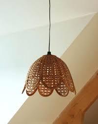 wicker chandelier shade mesmerizing rattan shades wooden white wall extraordinary woven