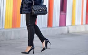 the classy girl s guide to wearing faux leather leggings