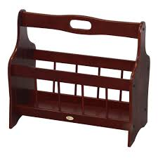 office depot magazine rack. Uniquewise Solid Wood Freestanding Magazine Rack Office Depot A