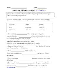 8Th Grade English Worksheets Free Worksheets Library | Download ...
