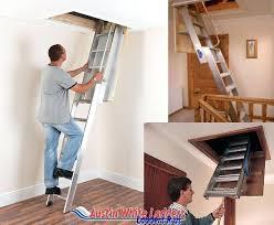 spiral wooden loft ladders with handrail sliding
