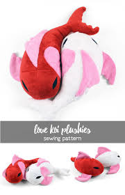 Free Stuffed Animal Patterns Fascinating Free Pattern Friday Love Koi Plushies Choly Knight