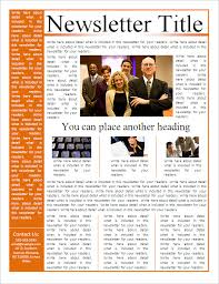sample company newsletter business newsletter templates free 22 microsoft newsletter