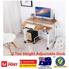 adjustable standing desk office. Image Is Loading Computer-Desk-Sturdy-Height-Adjustable-Standing-Desk-Office - Adjustable Standing Desk Office
