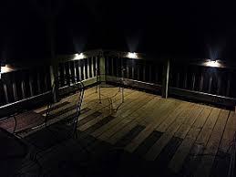 led outdoor deck lighting. led deckstep accent light led outdoor deck lighting