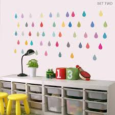 Small Picture raindrop vinyl wall stickers by oakdene designs