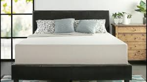 full size of zinus deluxe faux leather upholstered platform bed with wooden slats maxresde contemporary by