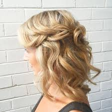 Collection Of Half Up Half Down Wedding Hairstyles For Medium Length