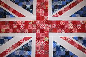 union jack 2   union jack quilt top in traditional colors ... & ... union jack 2   by kliebeans/Jensport Adamdwight.com