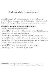 Clerk Resume Sample Accounting Clerk Resume Writer Legal Clerk