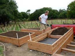 Small Picture How To Make A Raised Bed Garden Box From Wood Pallets 5 Steps