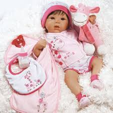 paradise galleries lifelike realistic weighted baby doll tall dreams