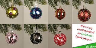 Design Your Own Christmas Decorations